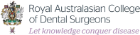 Royal Australasian College of Dental Surgeons Logo